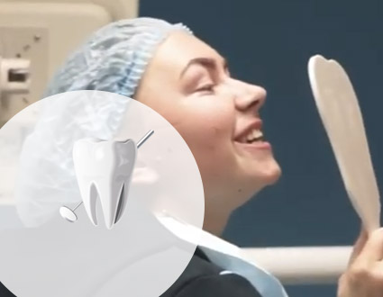 Реставрация зуба американской системой Filtek Ultimate
