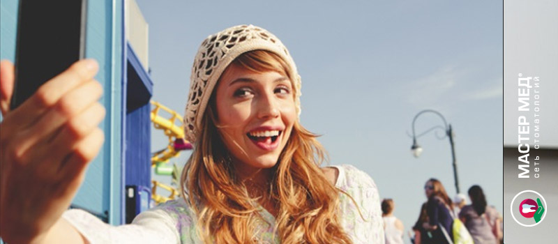 Селфи стимулирует обращаться к стоматологам